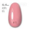 Акрил гель полигель Elise Braun №5 светло-розовый 30 мл.